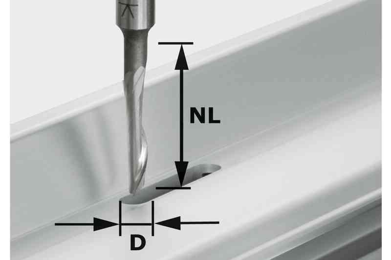 Fraise Aluminium Hs S8 D5 Nl23