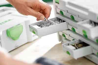Festool 201124 Plastique Set Accessoire pour SYS-COMBI et SYS 4 TL-sort//3